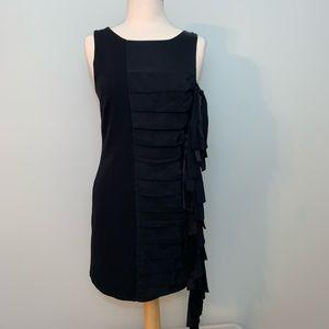 💃🏼2/$30💃🏼BCBG tied side black dress